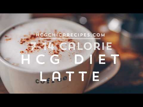 HCG Diet Latte Recipe - Coffee For 7-14 Calories!
