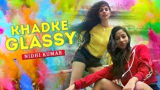 Khadke Glassy - Jabariya Jodi | Bollywood Dance Cover | Nidhi Kumar Choreography ft. TJ