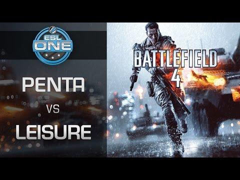 Battlefield 4 - PENTA vs. Leisure - ESL One gamescom 2015 Summer Finals - Group B