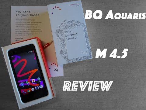 BQ Aquaris M4.5 - Pequeno mas Poderoso, Review em Português