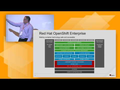 AWS Summit Series 2016 | Singapore: Containers Anywhere with OpenShift by Red Hat