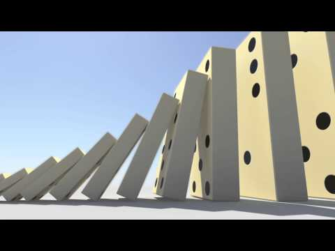 Domino Effect  - The largest domino simulation