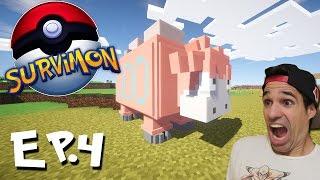 TROLLEANDO DISFRAZADO DE POKEMON | SurviMon Pokémon en Minecraft | Episodio 4
