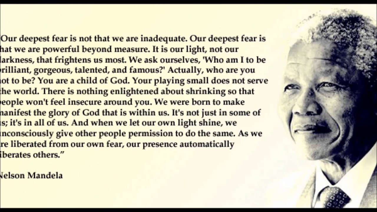 Encouraging Quotes Wallpaper Free Download Nelson Mandela Quotes Youtube