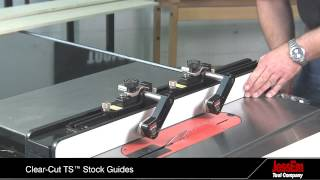 Clear-cut Ts™ Stock Guides For A Table Saw