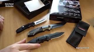 MAGNUM Advance Desert Pro Taschenmesser Messer Schwarz//Beige