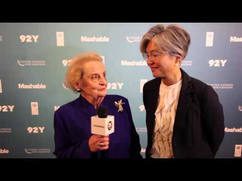 Madeleine Albright & Kyung-wha Kang: 2015 Social Good Summit