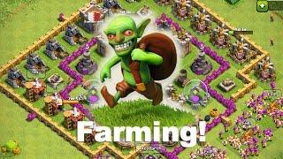 [HDV7] Clash of clans village farming + bonus by CSniper [HD]