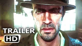 PS4 - The Sinking City Teaser Trailer (2018)