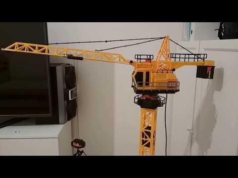 Игрушечный подъемный кран Mobicaro. Обзор, пояснения к сборке