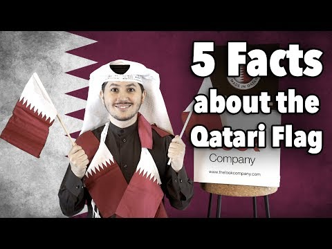 #QTip: We bet you didn't know these secrets about the Qatari flag!