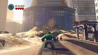 LEGO Marvel Super Heroes Demo PC Gameplay *HD* 1080P Max Settings