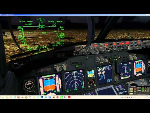 From TOD to Parking PMDG B737-800 with GSX at KHOU on VATSIM