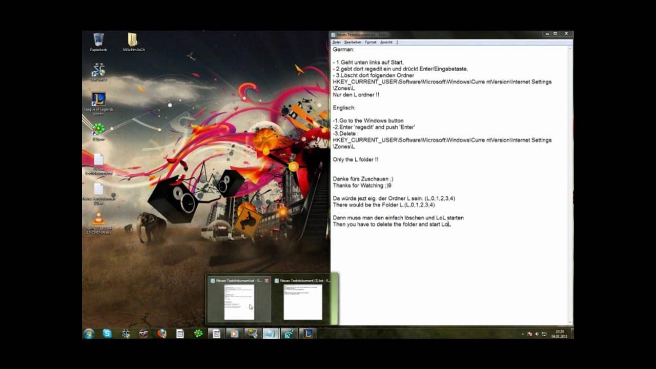 League of Legends Launcher Lösung - Launcher fix - YouTube
