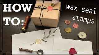 A Beginner's Guide to Wax Seal Stamps