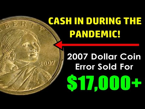 Sacagawea Dollar Errors You Can Cash In - PANDEMIC PROOF COINS WORTH BIG MONEY