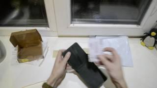 Распаковка. Портмоне BlankNote BN-PM-4-1-iz Изумруд