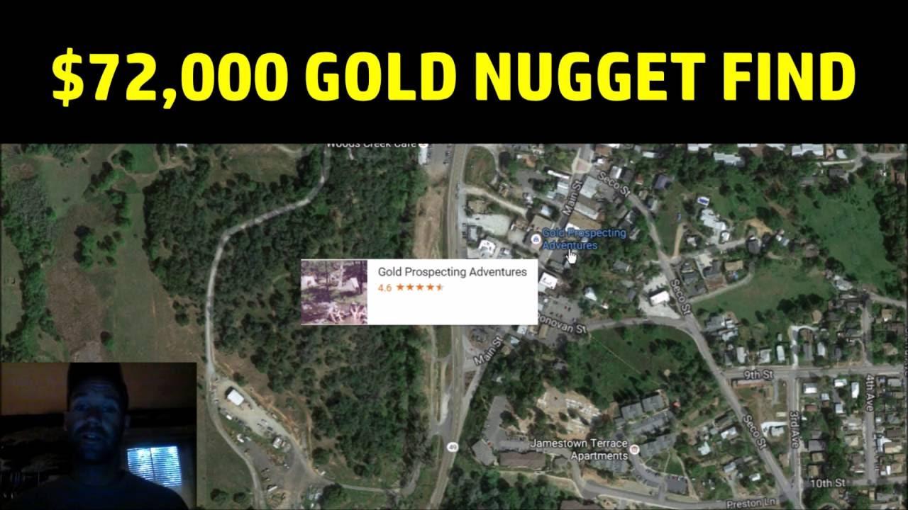 Jamestown 72000 gold nugget just found youtube jamestown 72000 gold nugget just found gumiabroncs Gallery