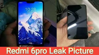 Redmi 6pro Leak Pictures | Tech 4 You |