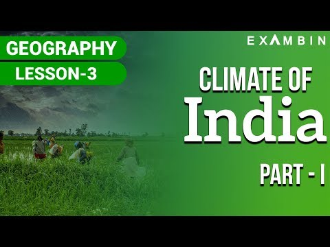 INDIAN GEOGRAPHY : Indian Climate Part 1