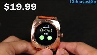 Under $20 Iradish X3 Smartwatch Quad Band SIM Support, Pedometer, Sleep Tracker