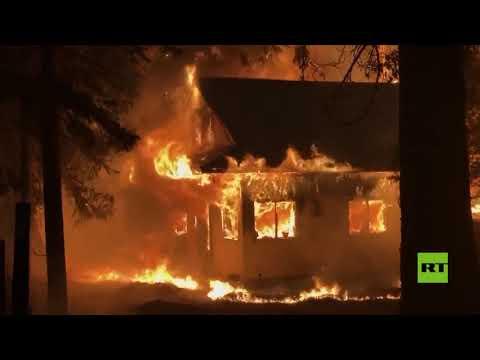 حريق ديسكي.. أكبر حرائق الغابات في كاليفورنيا لعام 2021  - نشر قبل 6 ساعة