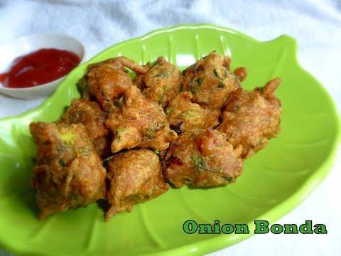 Onion bonda -  perfect crispy evening snack | deespkitchen