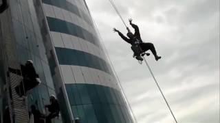 На высотках Грозный Сити устроили ловзар Чечня