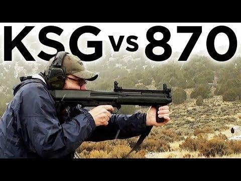 Kel-Tec KSG vs Rem 870: Tactical Shotguns Compared
