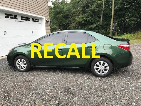 Toyota's somewhat secret CVT transmission recall / defect for the Corolla / Scion