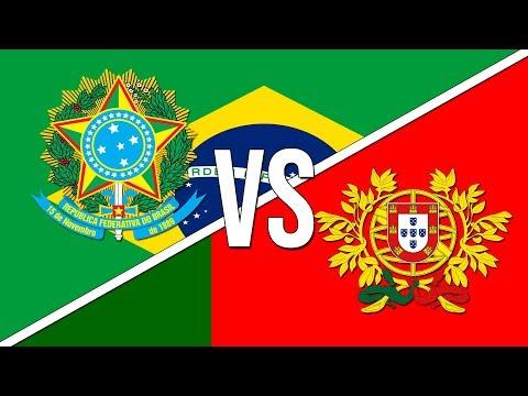 🇧🇷 Brazilian National Anthem vs. 🇵🇹 Portuguese National Anthem!