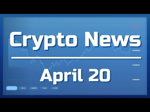 Crypto News Apr 20th: Dapps can pay tx fees, ETH a security?, New Verge Partner?