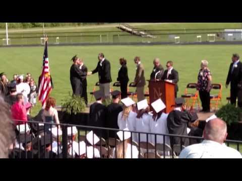 Newcomerstown High School Graduation 05 22 2016 04 Diplomas