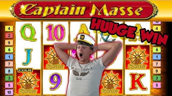 Online Slot - CAPTAIN VENTURE Big Win and LIVE CASINO GAMES (Casino Slots) Huge win