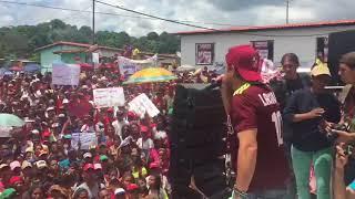 Rafael Lacava recibió apoyo de habitantes de La Guásima
