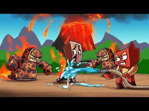 Minecraft Zoo - VOLCANO MONSTERS! (Minecraft Roleplay)