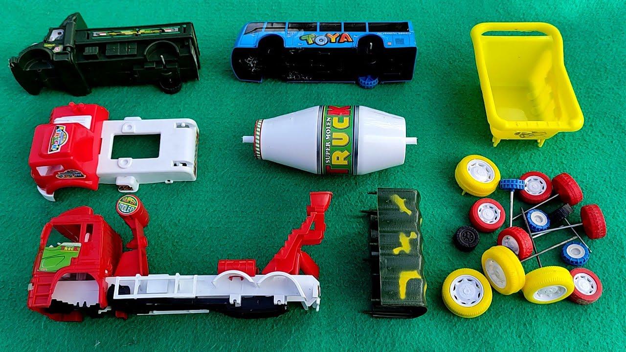 Merakit Mobil Truk, Tayo, Truk Molen dan Kendaraan Militer
