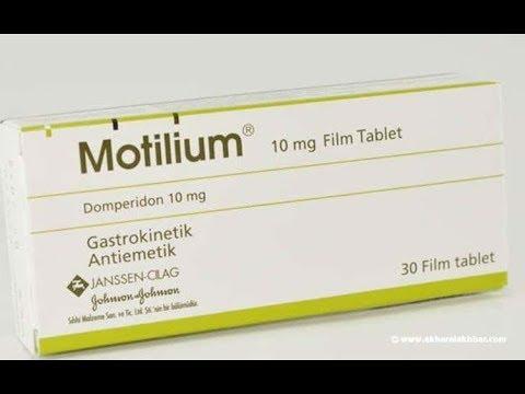 para que sirve el motilium de 10 mg