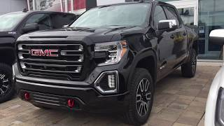First LOOK 2019 GMC Sierra 1500 AT4 Multi Function Tailgate Oshawa ON