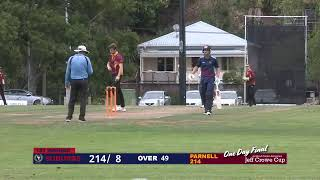 Jeff Crowe Cup Men's One Day Final