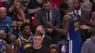 Draymond Green Mic'd Up During Jordan Bell's Missed Dunk In Game 3 Was Amazing | WCF