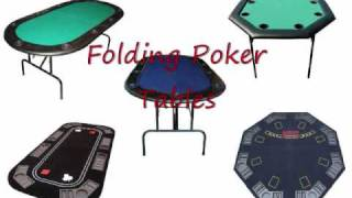 Folding Poker Tables - See This Before You Buy One