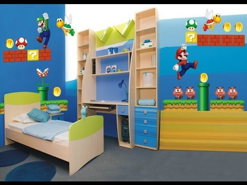 Ideas para decorar cuartos para ni os muy bonitos youtube for Habitaciones decoradas para ninos