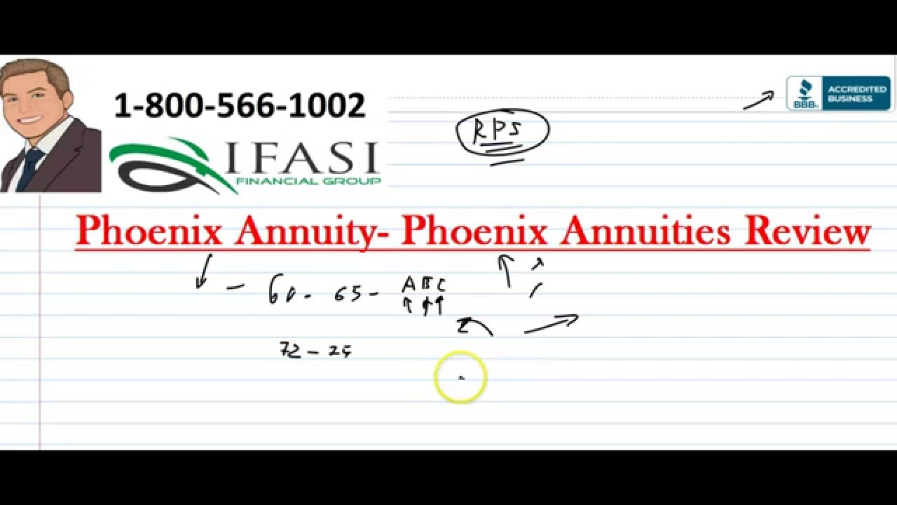 phoenix annuities Phoenix Annuity Explained - Phoenix Annuities Review - YouTube