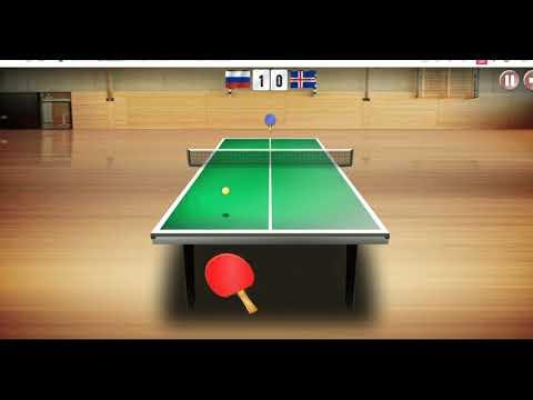 Table Tennis  World Tour Html 5 игра онлайн бесплатно без регистрации