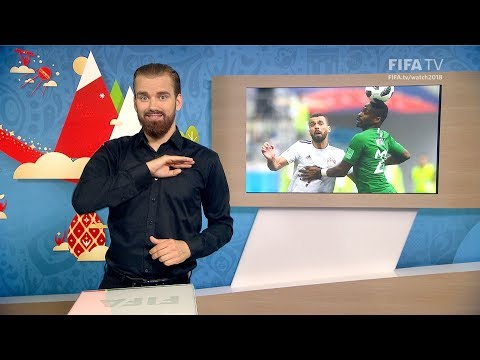 FIFA WC 2018 - KSA vs. EGY – for Deaf and Hard of Hearing - International Sign