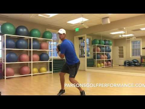 Total body golf workout