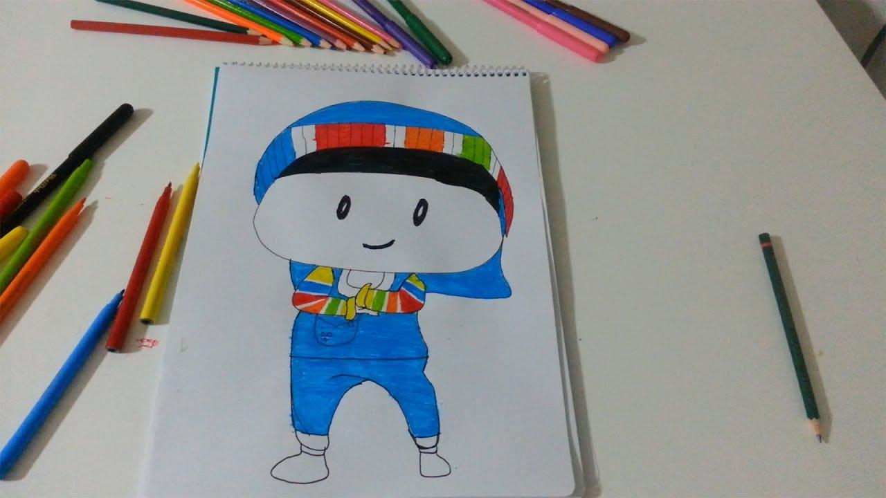 Pepee çizim Ile Renkleri öğreniyoruz çocuk Videoları Pepe Boyama