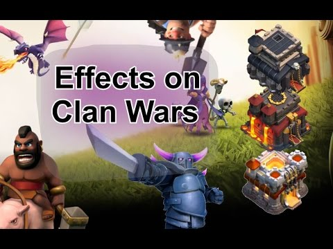 Balancing Update: Effects on Clan Wars (TH9, 10, 11)