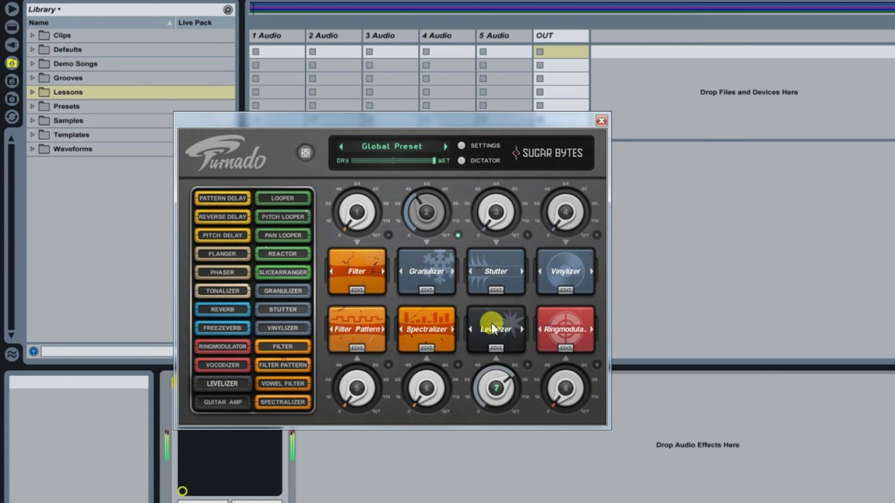 Transition FX (plugin) TURNADO - DJ FXs (Ableton)